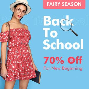 Back To School Promotion Up To 70% Off